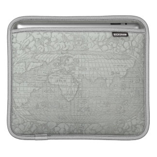 Map of the World 5 iPad Sleeve