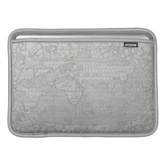 Map of the World 5 MacBook Sleeve