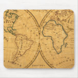 Map of the World 5 Mouse Mat