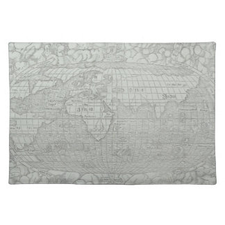 Map of the World 5 Placemat