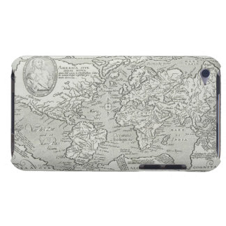 Map of the World 6 Barely There iPod Covers