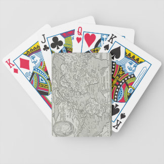 Map of the World 6 Bicycle Playing Cards