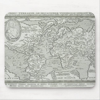 Map of the World 6 Mouse Mat
