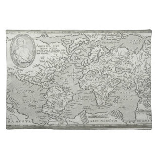 Map of the World 6 Placemat