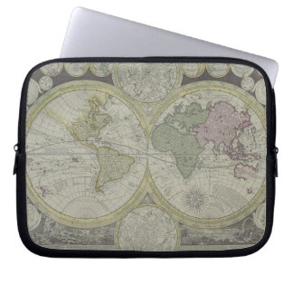 Map of the World 7 Computer Sleeve