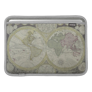 Map of the World 7 MacBook Sleeve