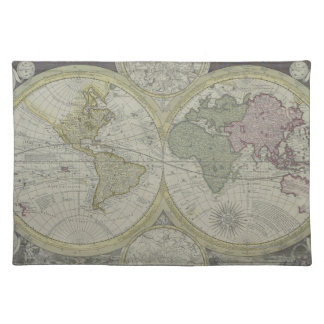 Map of the World 7 Placemat