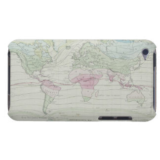 Map of the World 8 Barely There iPod Case