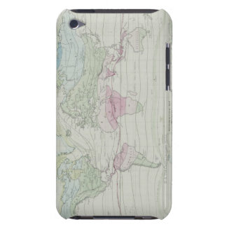Map of the World 8 Barely There iPod Cover