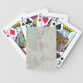 Map of the World 8 Bicycle Playing Cards