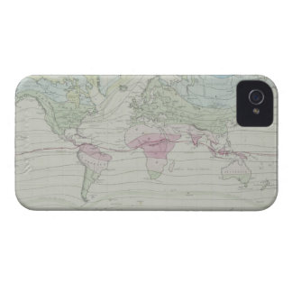 Map of the World 8 Case-Mate iPhone 4 Case
