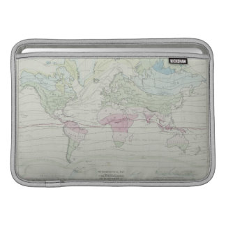 Map of the World 8 MacBook Air Sleeves