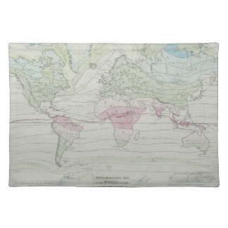 Map of the World 8 Placemat