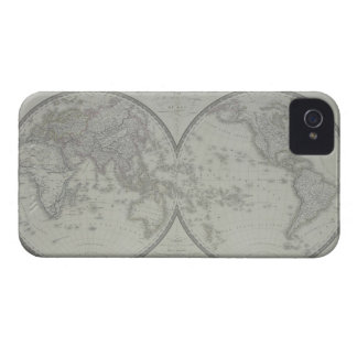 Map of the World 9 iPhone 4 Case