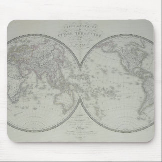 Map of the World 9 Mouse Mat