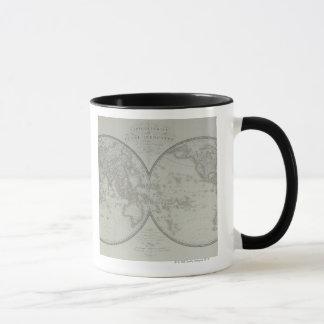 Map of the World 9 Mug