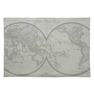 Map of the World 9 Placemat