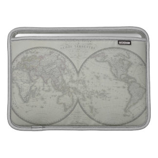 Map of the World 9 Sleeve For MacBook Air