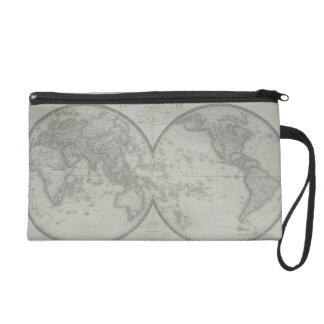 Map of the World 9 Wristlet