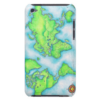 Map of the World iPod Case-Mate Case