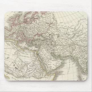 Map of the World known to the ancients Mouse Pad