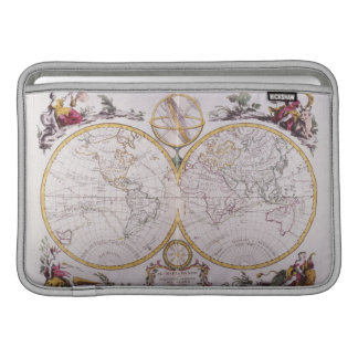 Map of the World MacBook Sleeve