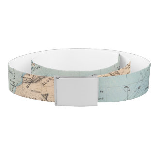 Map of the world on Mercator's projection Belt