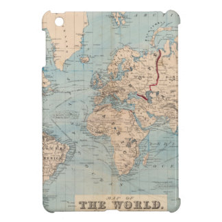 Map of the world on Mercator's projection Cover For The iPad Mini