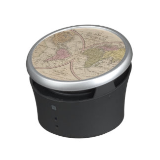 Map Of The World on the Globular Projection 2 Speaker