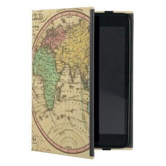 Map Of The World on the Globular Projection Cover For iPad Mini