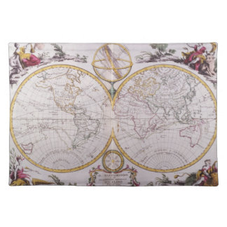 Map of the World Placemat