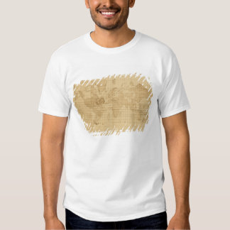 Map of the world tee shirts