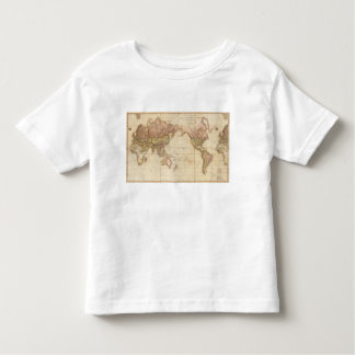 Map of the world tees