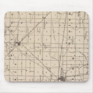 Map of Tipton County Mouse Mat