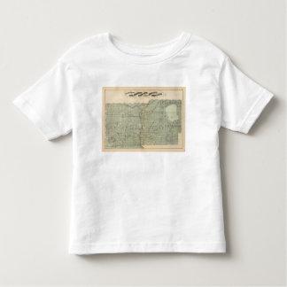 Map of Todd, Morrison, Minnesota Toddler T-Shirt