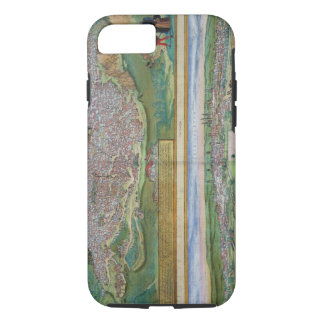 Map of Toledo and Valladolid, from 'Civitates Orbi iPhone 8/7 Case