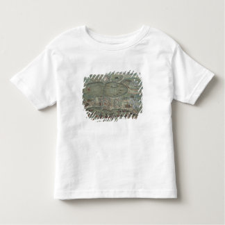 Map of Tunis, from 'Civitates Orbis Terrarum' by G Toddler T-Shirt