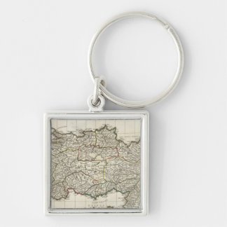 Map of Turkey Key Ring