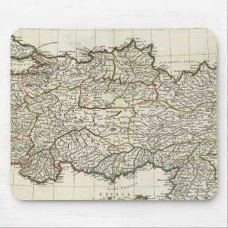 Map of Turkey Mouse Mat