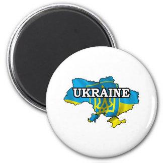 Map Of Ukraine Magnet