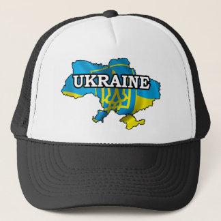 Map Of Ukraine Trucker Hat