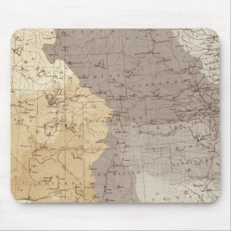 Map of US Drainage Areas Mouse Mat