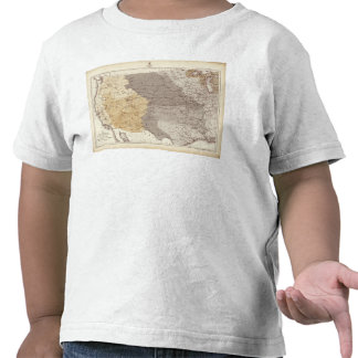 Map of US Drainage Areas Shirt