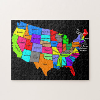 Map of USA Puzzle