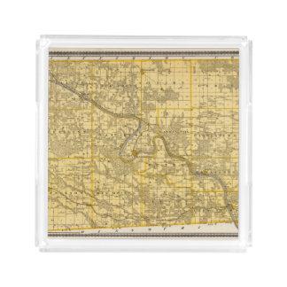 Map of Van Buren County, State of Iowa