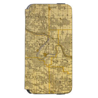 Map of Van Buren County, State of Iowa Incipio Watson™ iPhone 6 Wallet Case