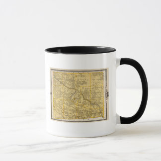 Map of Van Buren County, State of Iowa Mug