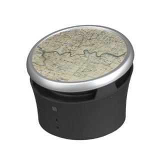 Map of Venango County Oil Regions Bluetooth Speaker