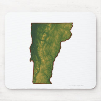 Map of Vermont Mousepad