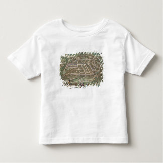 Map of Vilnius, Lithuania, from 'Civitates Orbis T Toddler T-Shirt